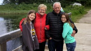 A game for the girls … and grandparents
