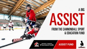 Lace 'Em Up partners with Hockey Canada Foundation Assist Fund