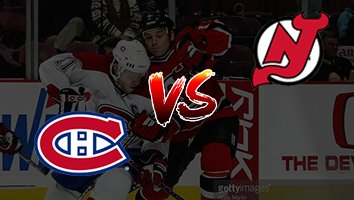 Montreal Canadiens vs New Jersey Devils